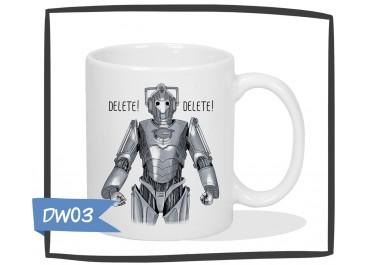 Kubek - Doctor Who - Cyberman - Delete! Delete!