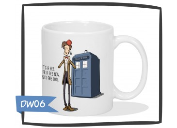 Kubek Doctor Who - I wear a fez now