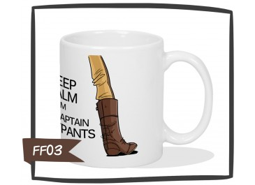 Kubek - Firefly - Keep Calm I`m The Captain Tightpants