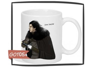 Kubek z nadrukiem Gra o Tron - Jon Snow