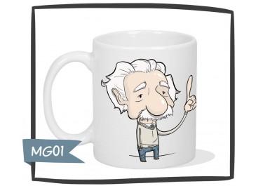 Kubek - Einstein - Każdy jest genialny