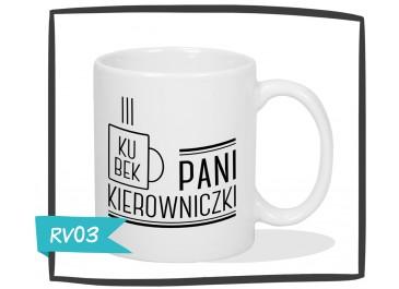 Kubek Pani Kierowniczki