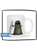 Kubek z nadrukiem Dalek, Exterminate, Doctor Who