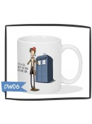 Kubek - Doctor Who - I wear a fez now