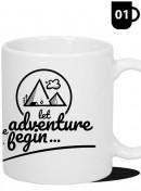 Kubek Podróżnika - Let the Adventure begin