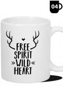 Kubek Podróżnika - Free Spirit Wild Heart