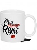Kubek Retro - Mrs. Always Right